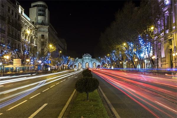 道路夜景照明