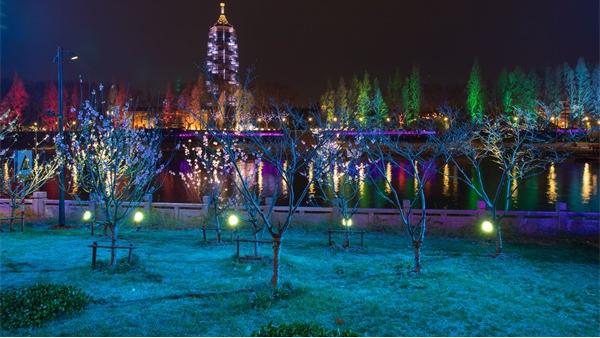 公园夜景亮化照明方式及光源的选择