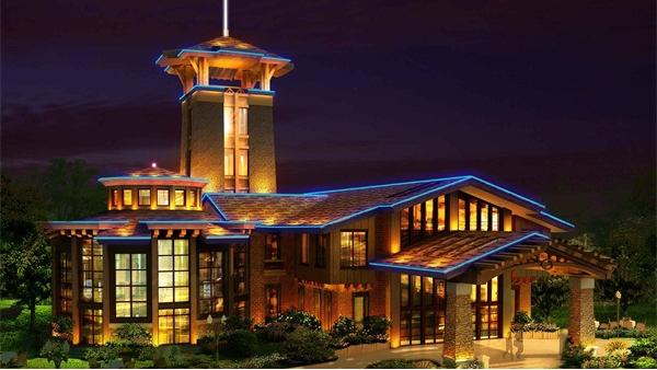 城市夜景照明对社会经济发展的作用