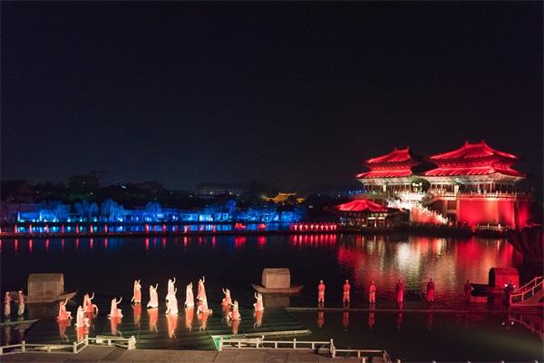 景观夜晚亮化设计