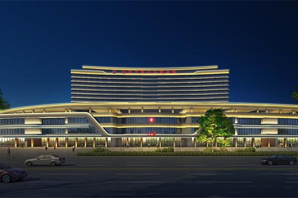 林州市第二人民医院亮化工程效果