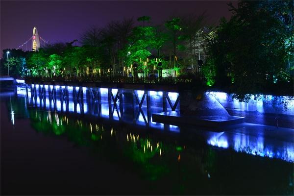 河道景观照明设计属于城市规划的一部分