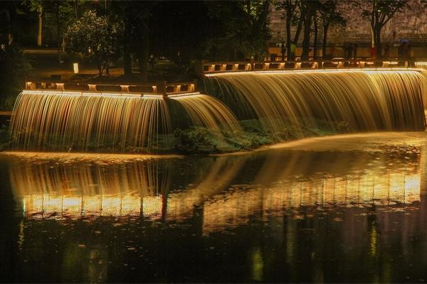 水景夜景亮化