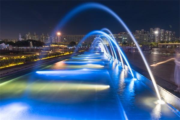 广场水景亮化