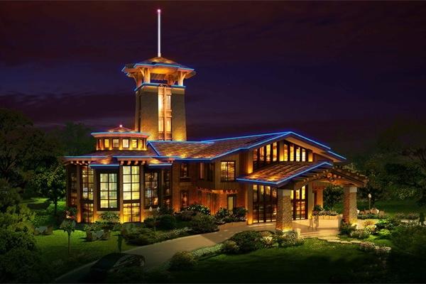 """酒店夜景照明设计不能一味追求""""越亮越好"""""""
