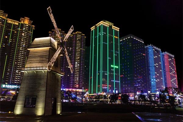 城市灯光景观照明