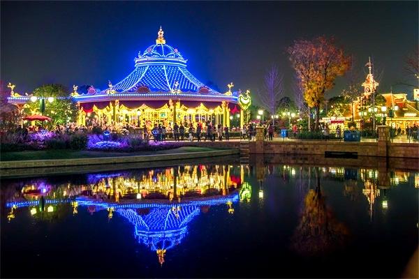游乐园亮化-让灯光艺术提高趣味性