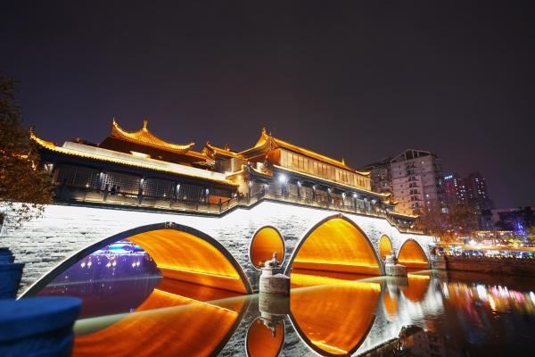 桥梁夜景亮化施工