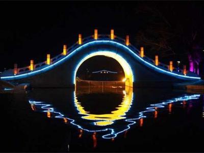 公园桥亮化工程
