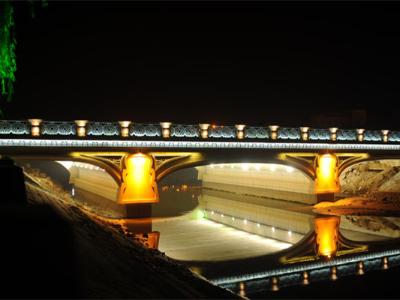 景区桥亮化设计
