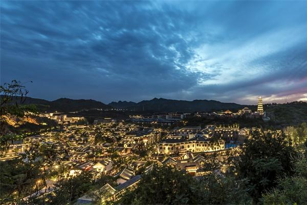 古镇照明设计丰富了古镇夜间景色