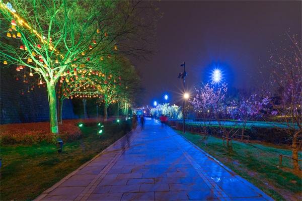 公园led灯光亮化