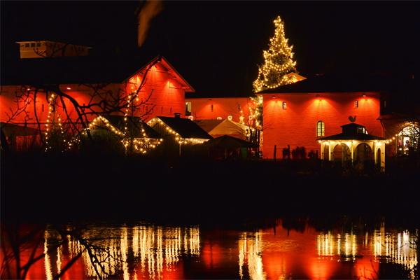 文旅景观夜景亮化有效推动夜游产业发展