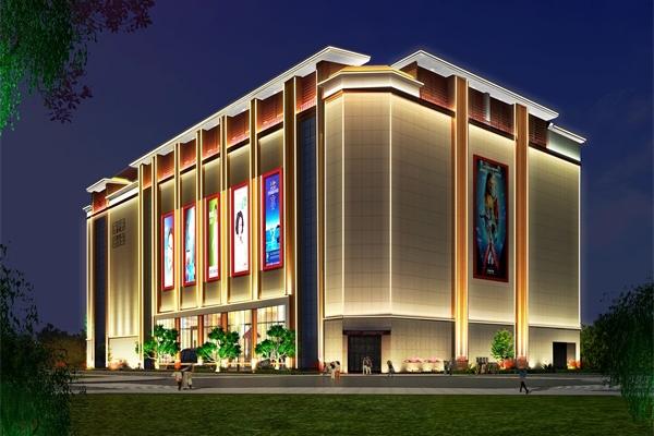 户外亮化轮廓照明适用于哪些建筑?