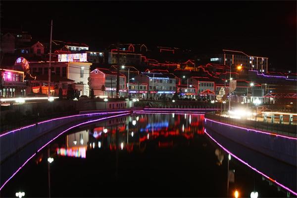 景区夜游灯光设计