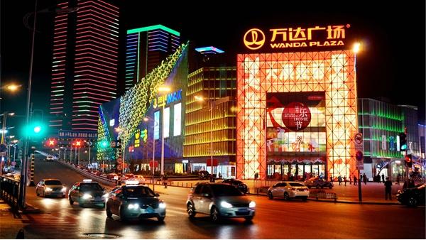 古典美是未来商业街工程照明的主流