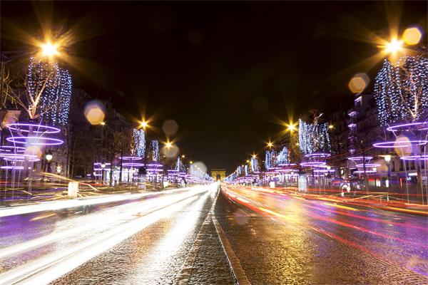 道路夜景亮化照明