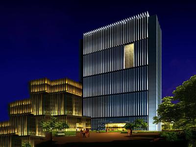 办公楼楼体亮化-城市夜景重要组成部分