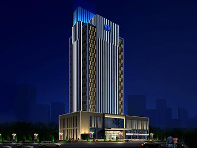 办公大楼亮化-造就高品质的光环境