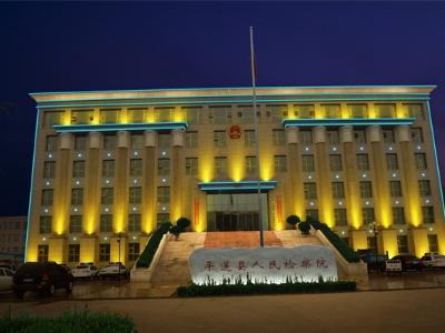 市政大楼亮化工程-提升城市夜间形象