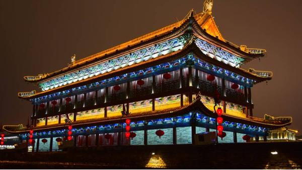 古建筑夜景亮化需注意事项