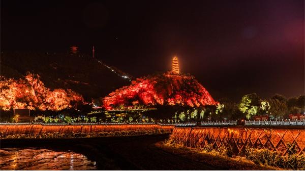 山体灯光亮化设计提高城市知名度