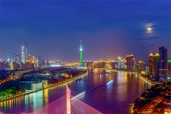 商业综合体夜景亮化是城市形象的重要组成