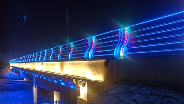 许昌长葛市八一桥桥梁亮化工程