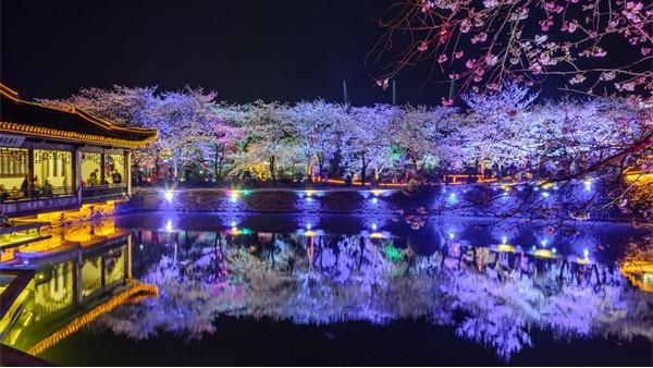 河道灯光亮化设计体现人和自然的和谐性
