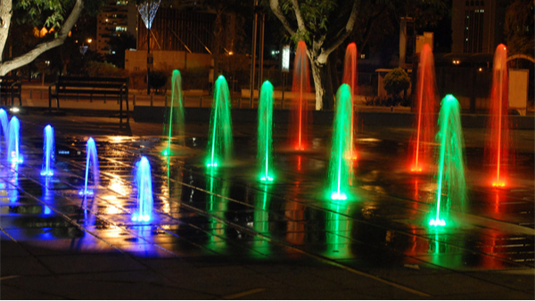 公园景观照明设计创造富有活力的休闲环境