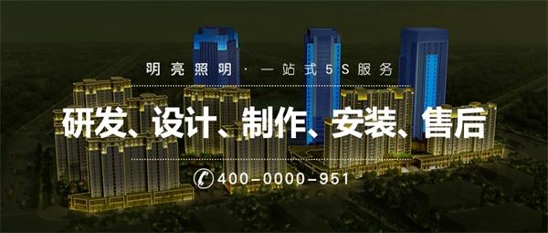 河南省漯河双安保全技防楼体亮化工程
