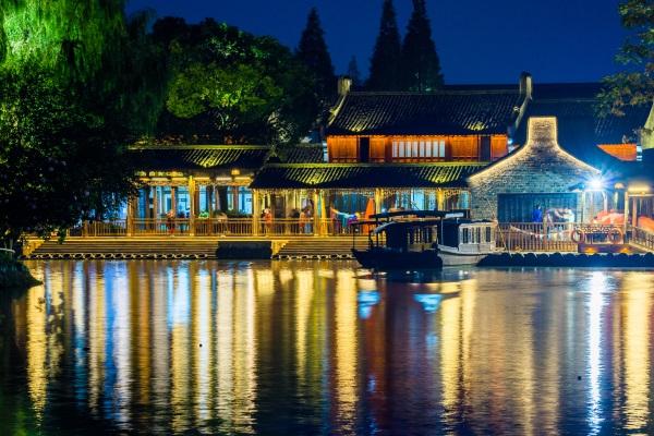 城市景观夜间照明设计