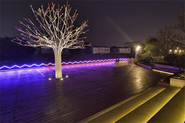 公园景观照明设计打造公园夜景形象