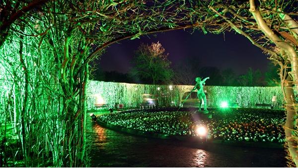 公园花坛亮化设计需注意的事项?