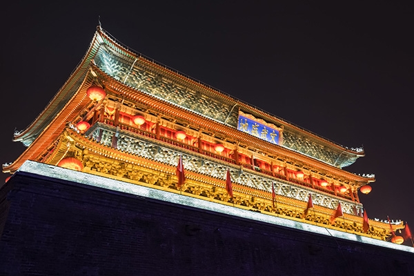 古建筑灯光照明