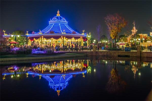 主题乐园灯光照明都包含哪些?