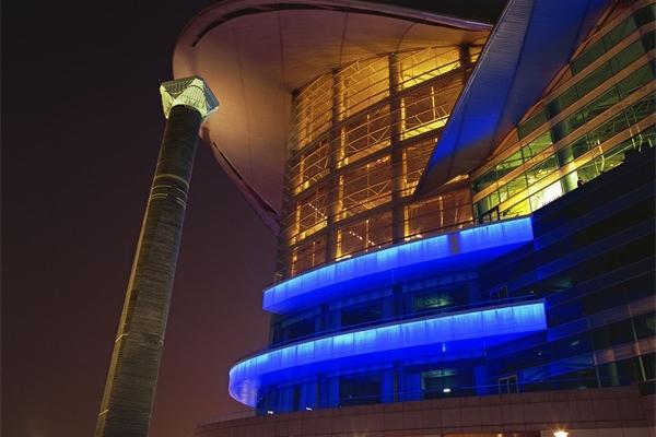 城市楼体亮化工程