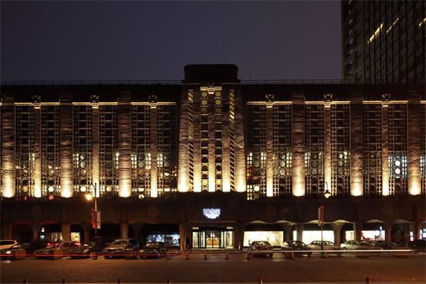 酒店楼宇亮化设计