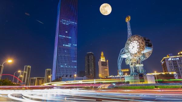 如何打造独特的城市户外灯光亮化工程?