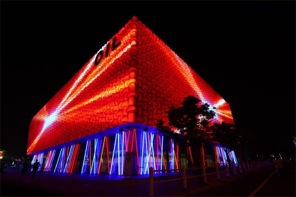 博览建筑亮化设计