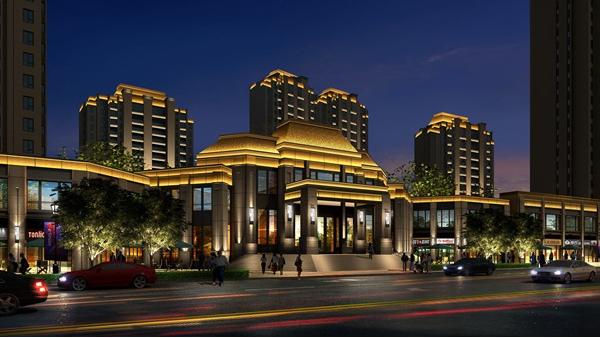 房地产售楼部亮化设计应考虑的因素