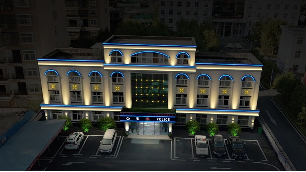 信阳市市政外墙亮化工程