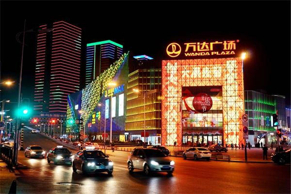 商业街灯光照明设计