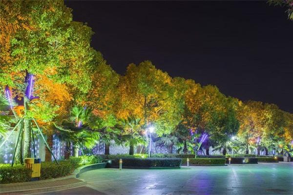 城市园林亮化-造型设计因景而异