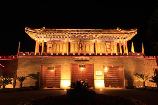 新中式建筑亮化设计