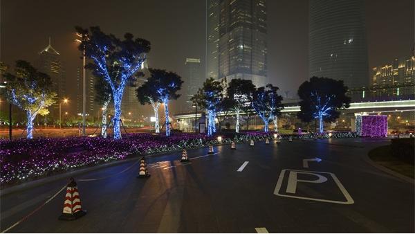 广场亮化设计是城市规划的重点之一