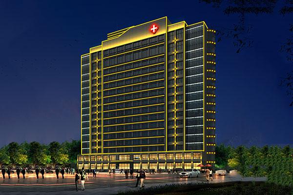 医院亮化照明-提升建筑楼体的质感