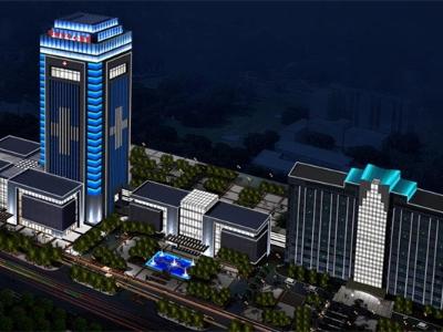 医院大楼亮化-要注重大楼夜间形象