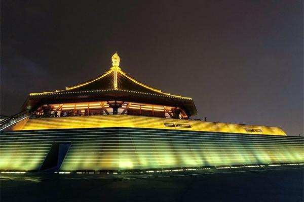 古建筑灯光亮化,展现古建千年文化