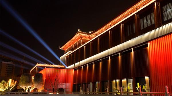 古建筑亮化工程充分塑造古建筑的文化内涵